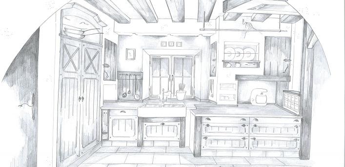 nussdorfer k chenhaus k chen aus eigener herstellung. Black Bedroom Furniture Sets. Home Design Ideas