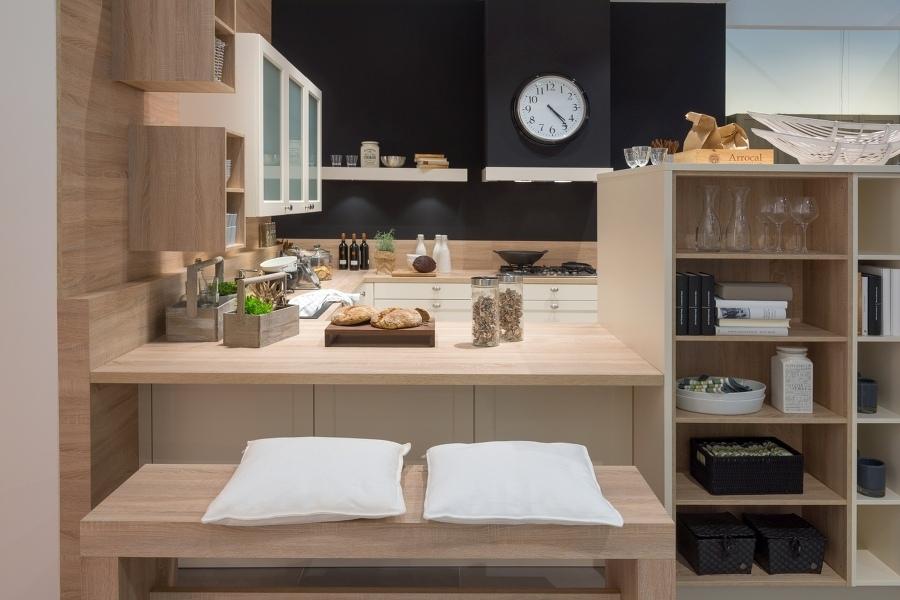 küchentisch, arbeitsplatte mit edelstahlfuß in niedersachsen ... - Küchentisch Aus Arbeitsplatte